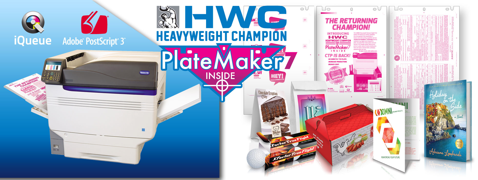 HWC Heavyweight Champion + PlateMaker 7 Inside