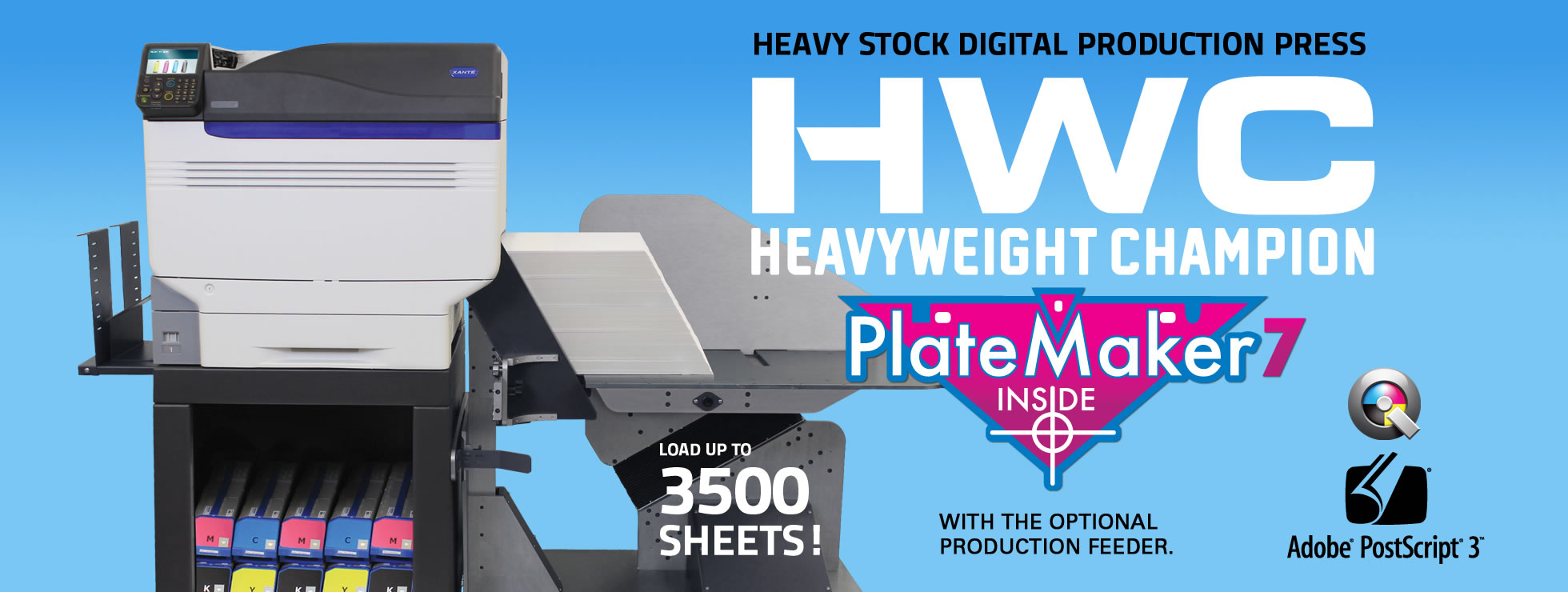 HWC Heavyweight Champion Ultra Heavy Stock Digital Print System