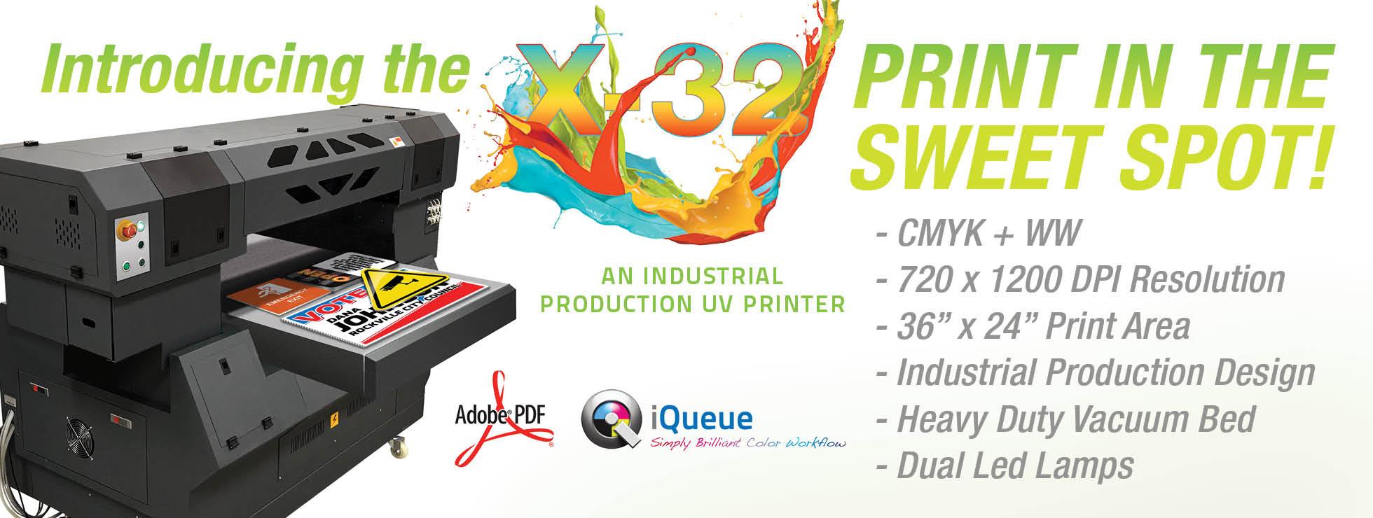 X-32 UV Printer