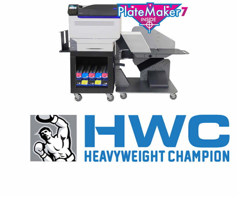 Heavy Stock Multi-Media Digital Press