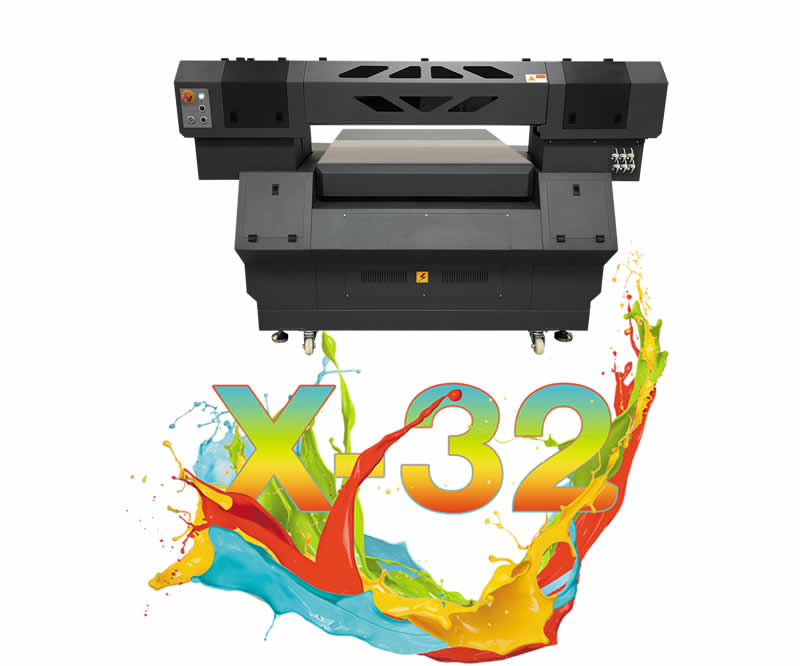 X-32 UV-Curable Flatbed Inkjet